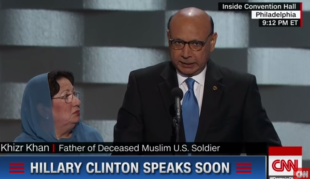 Christie: Khan family has 'the right to say whatever they want'