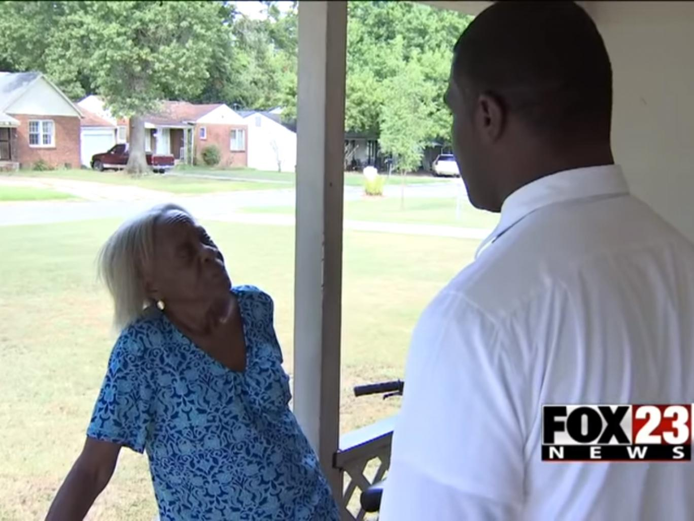 Oklahoma woman, 84 and black, pepper-sprayed in the face by police in her home