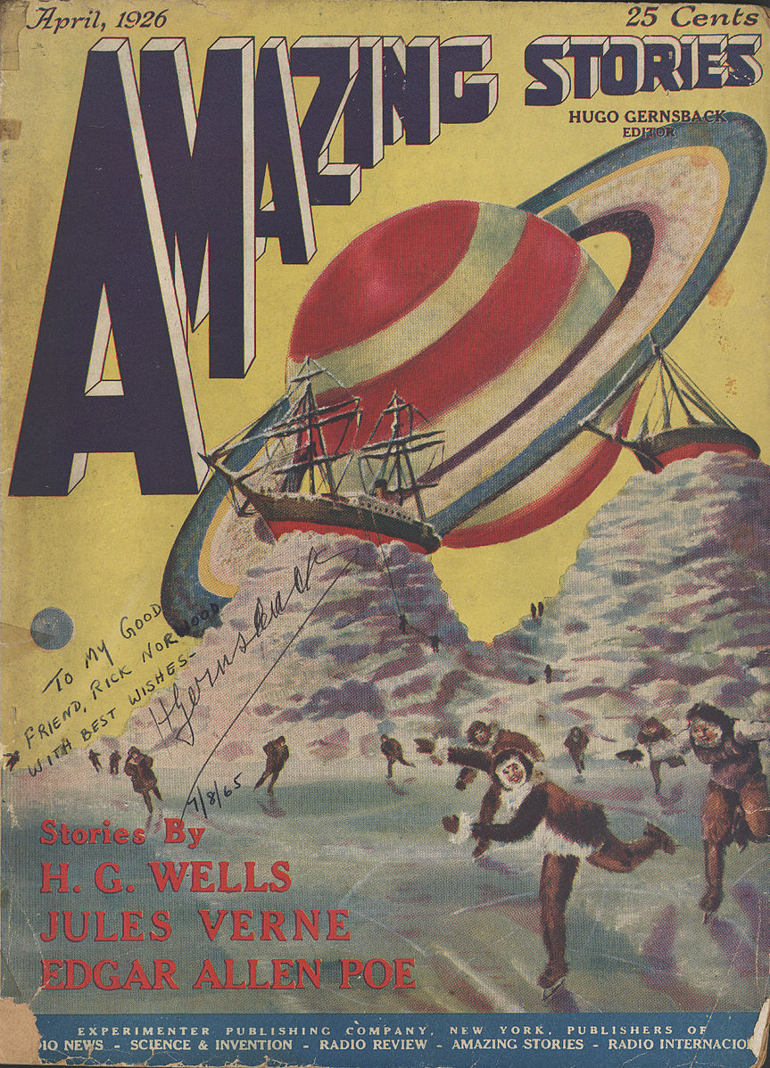 Hugo Gernsback's Introduction To The First Issue Of Amazing Stories, 1926