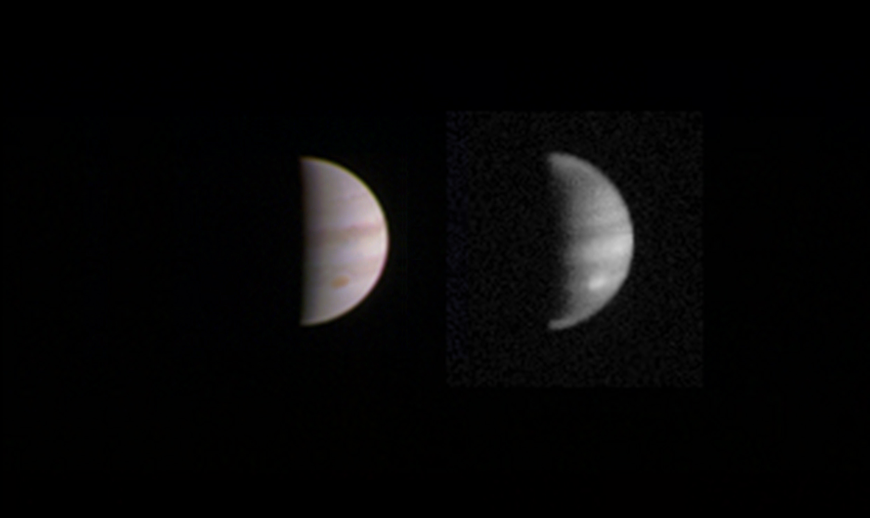 Juno soars closest to Jupiter August 27