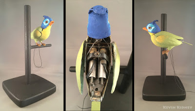 Tiki Bird moveable wings