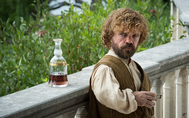Tyrion Drinking