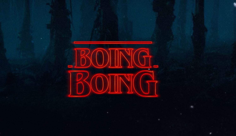 Stranger Things-style logo generator / Boing Boing