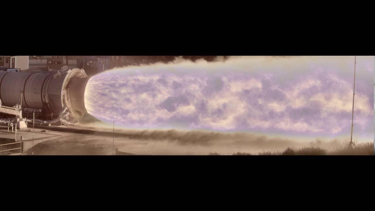 NASA's High Dynamic Range Stereo X camera captures rocket test in breathtaking detail