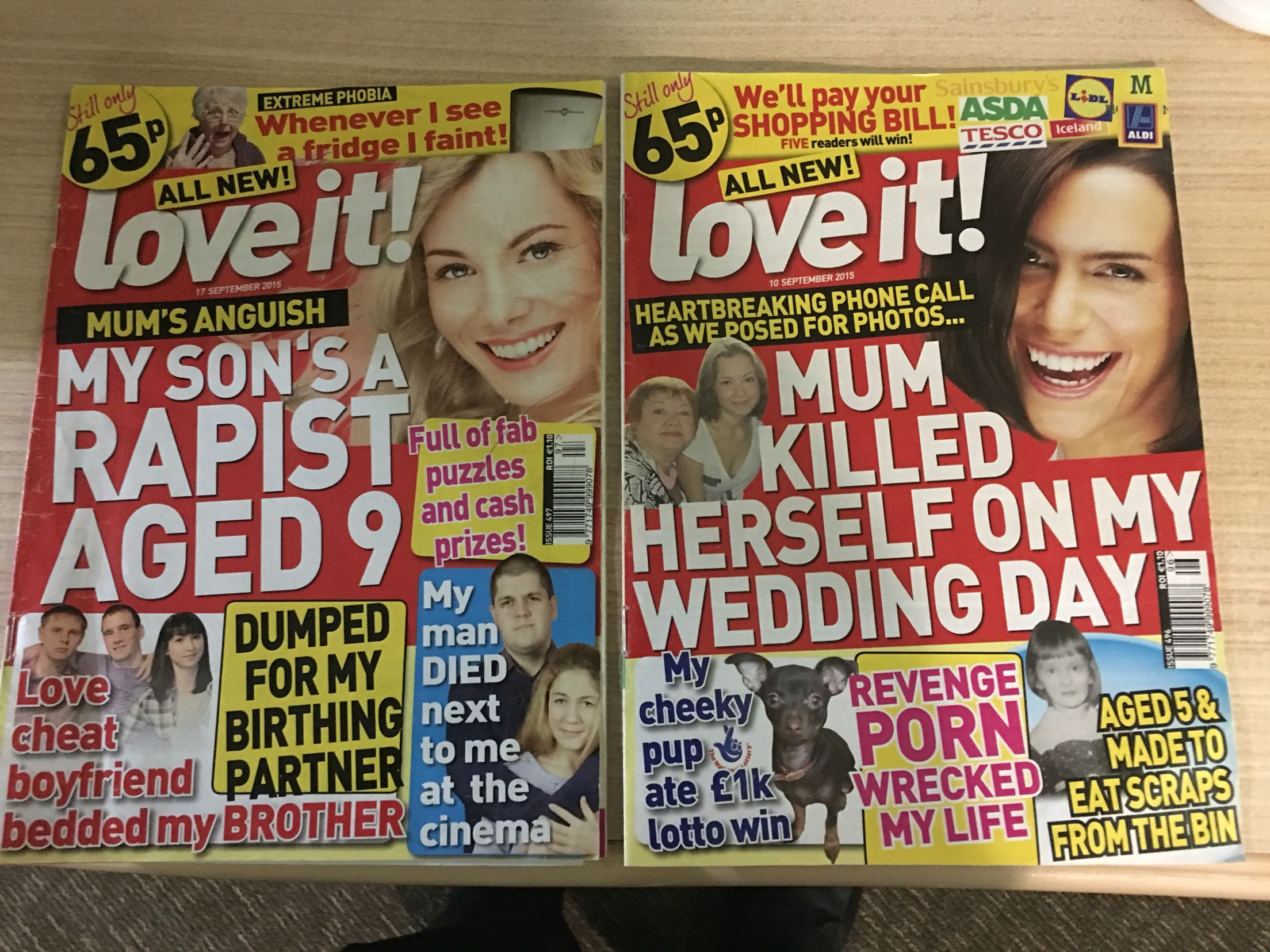 why tabloid magazines are appealing In terms of paper size, a tabloid is about the size of a large magazine, with a depth of around 14 inches (36 centimeters) and a width of around 10 inches (25 centimeters) the tabloid is essentially half the size of the larger broadsheet format, making it much more compact and easy to handle the precise paper size can very.