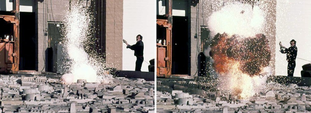 The Making of 'Star Wars,' 1977: Amazing photos of ILM filming Death Star explosions