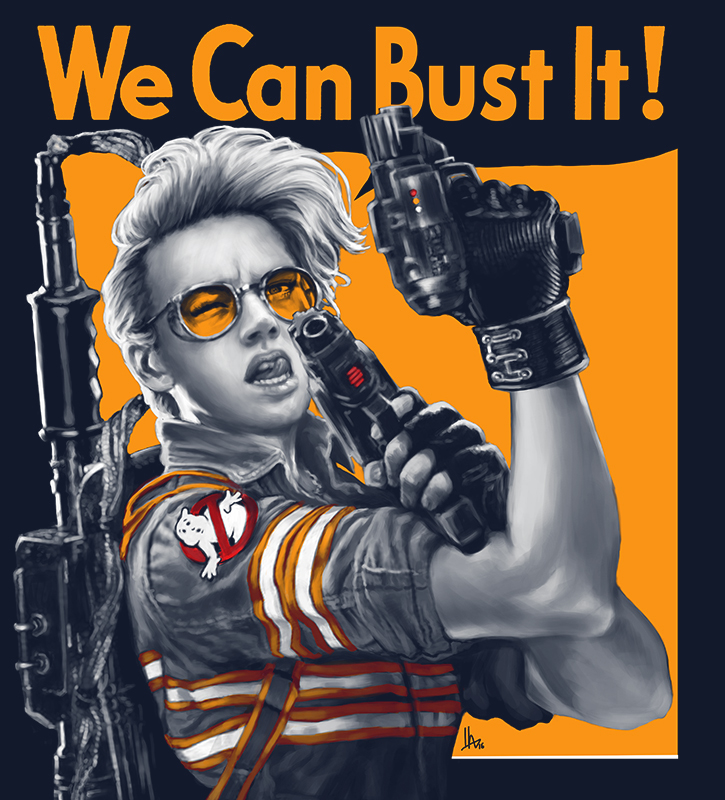 Rosie The Riveter Ghostbusters Edition Boing