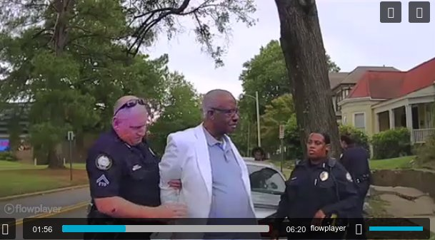 Arkansas lawmaker who passed law protecting making videos of arrests arrested for videoing an arrest