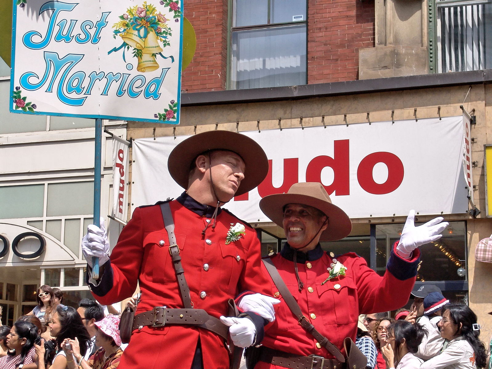 Just_Married_at_Pride_Parade