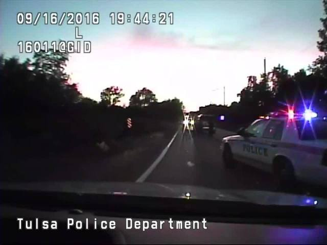 Video released of Tulsa police fatally shooting unarmed