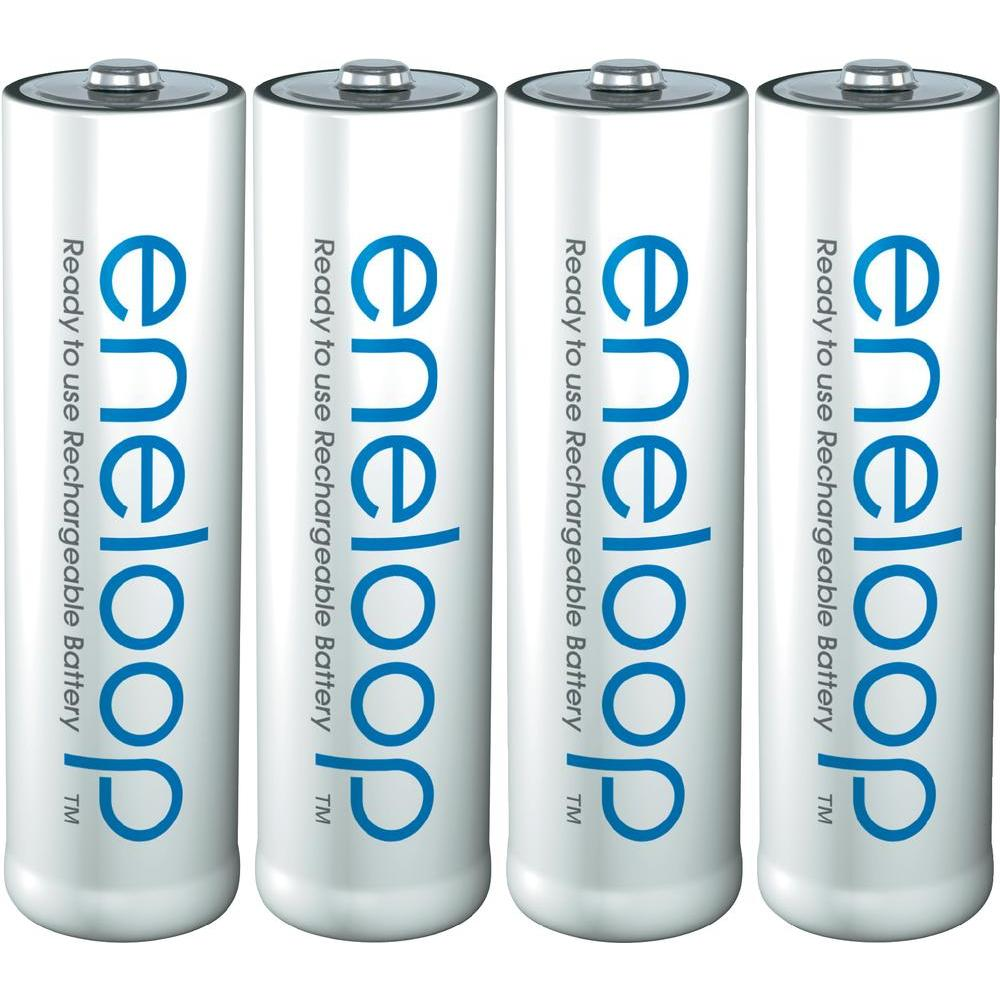 Eneloops are amazing rechargeable batteries