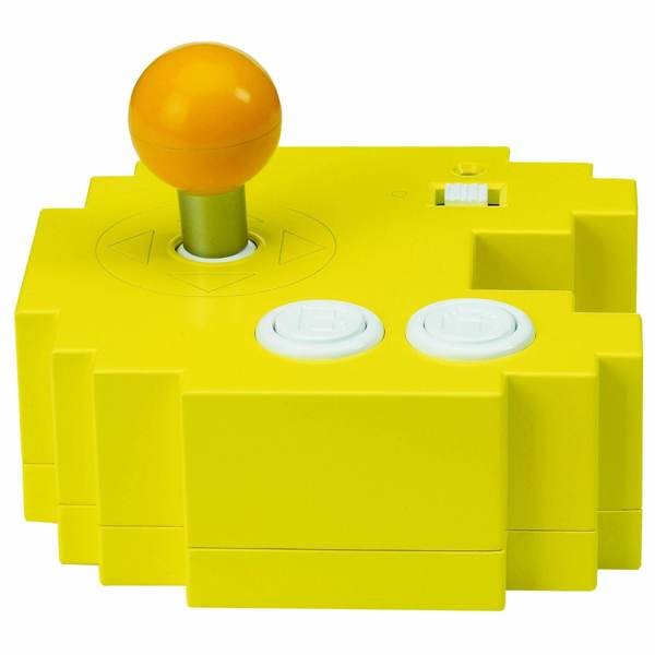 Pac-Man joystick contains 12 classic games, costs $8