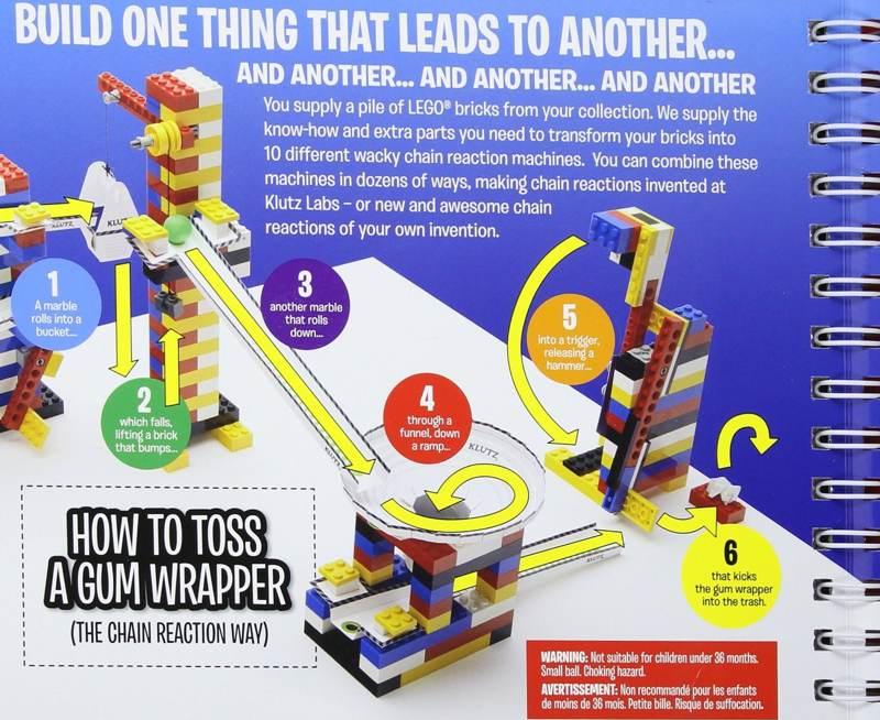Klutz Lego Chain Reactions Kit For 10 Boing Boing