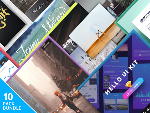 This bundle can be very helpful for designers and marketers alike