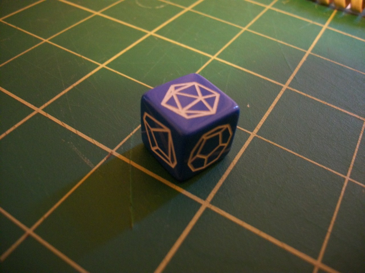 Dice so nerdy, they make other dice seem not nerdy