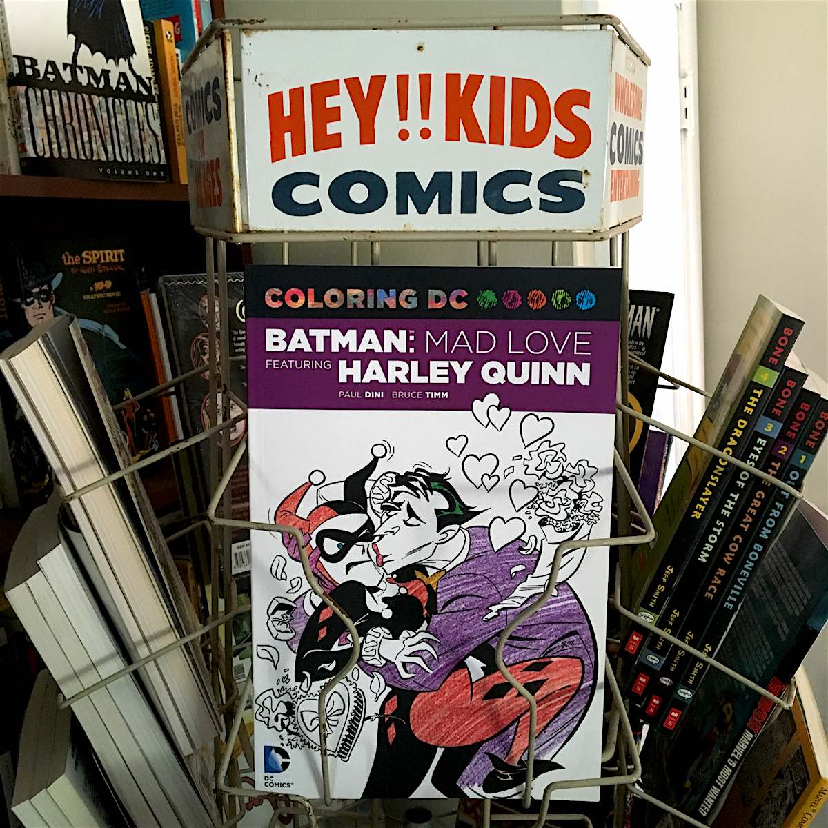 Coloring book quinn - Dc Reprints The Classic Batman Harley Quinn Story Mad Love As A Coloring Book