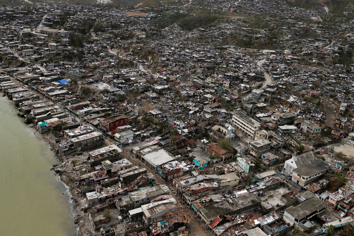 Image result for haiti hurricane matthew