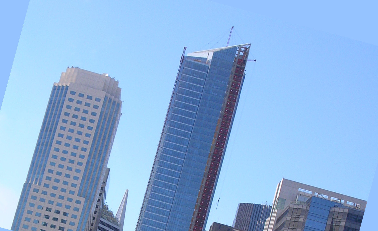 """San Francisco's 58-story """"leaning tower"""" is sinking fast"""