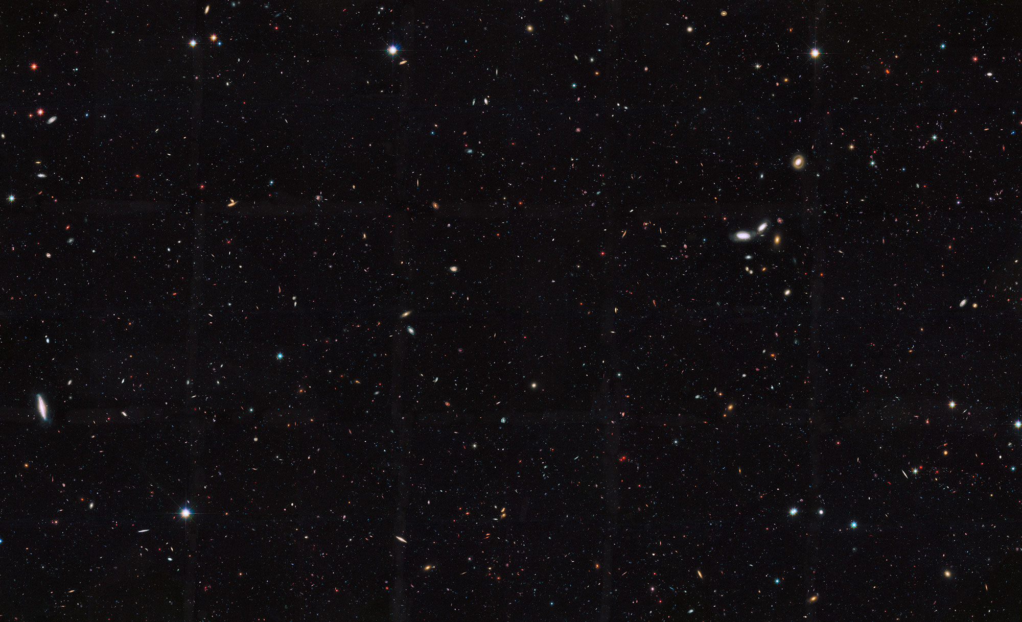 More than 2 trillion galaxies in the universe, at least 10 times as many as we thought