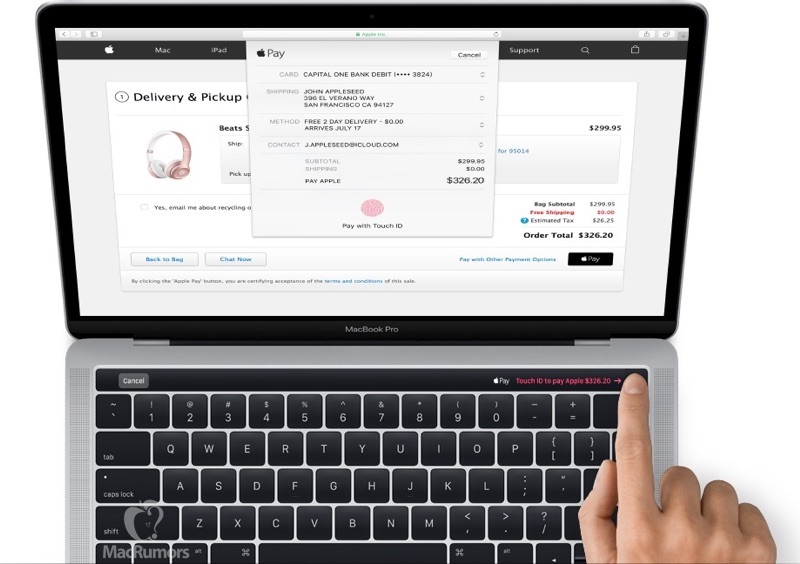 New MacBook Pro design shows up a day early