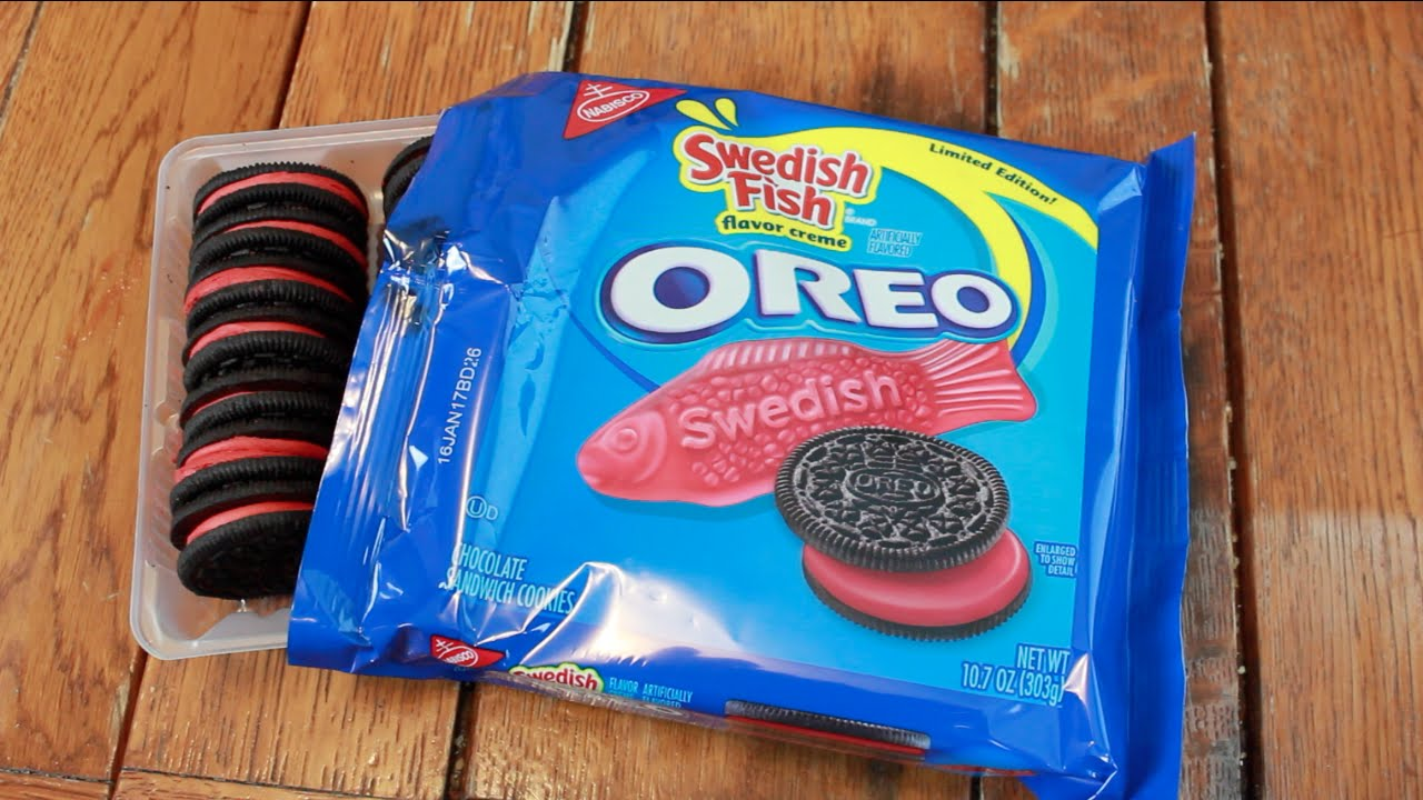 Swedish fish flavor oreo cookies reviewed boing boing swedish fish flavor oreo cookies reviewed freerunsca Image collections