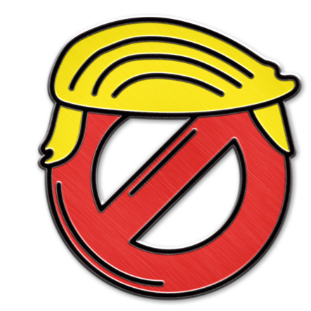 Anti Trump And Pro Hillary Pins Wont Save The World Boing Boing