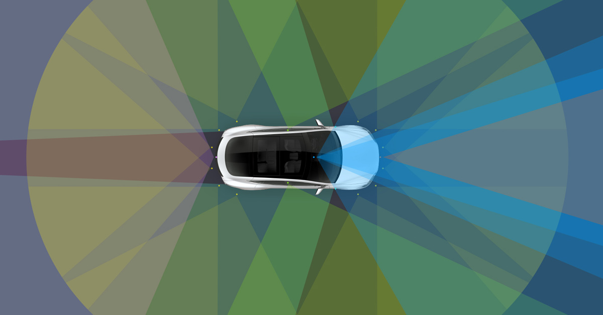 Tesla announces full self-driving hardware on all models