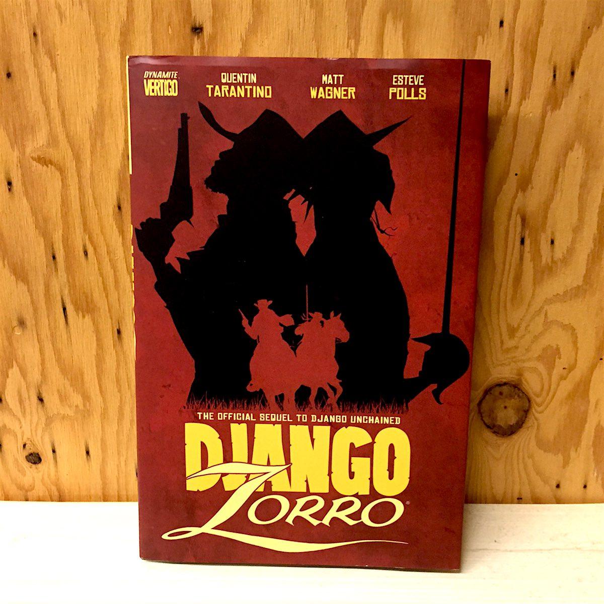 Django/Zorro – Like dipping french fries in a milkshake, the pairing oddly works