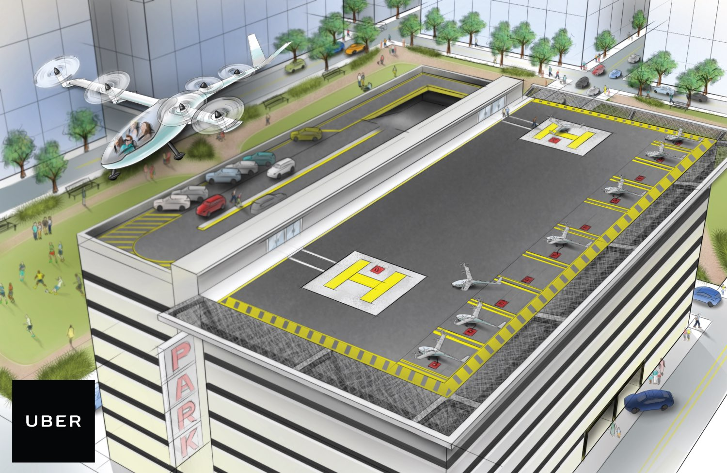 Uber promises flying cars within 10 years