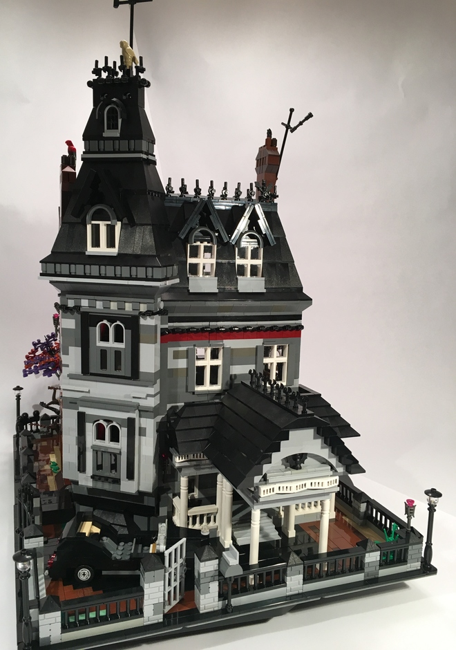This LEGO Addams Family Mansion needs to happen