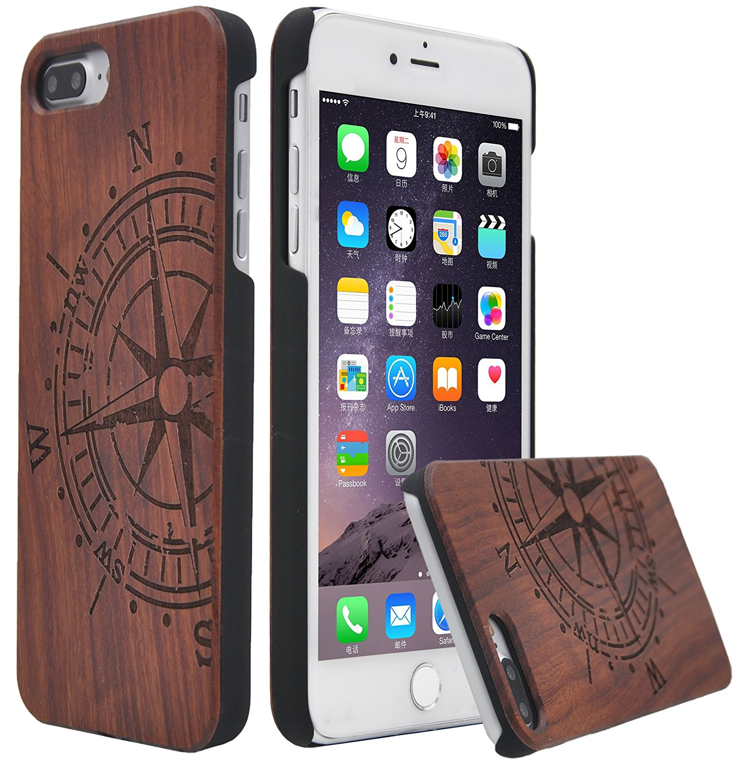 reputable site 27505 f6d88 Beautiful, slim rosewood iPhone 7 plus case for $8 / Boing Boing