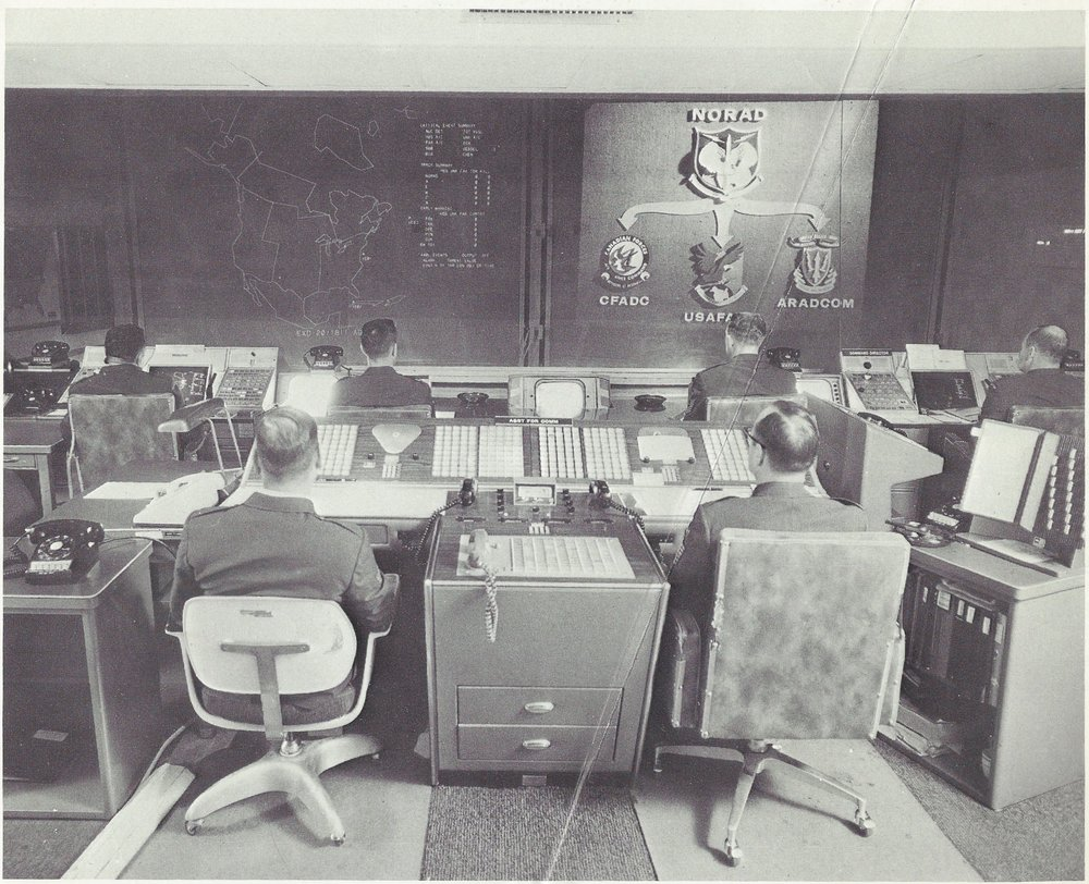 Vintage photos show NORAD's construction and operation