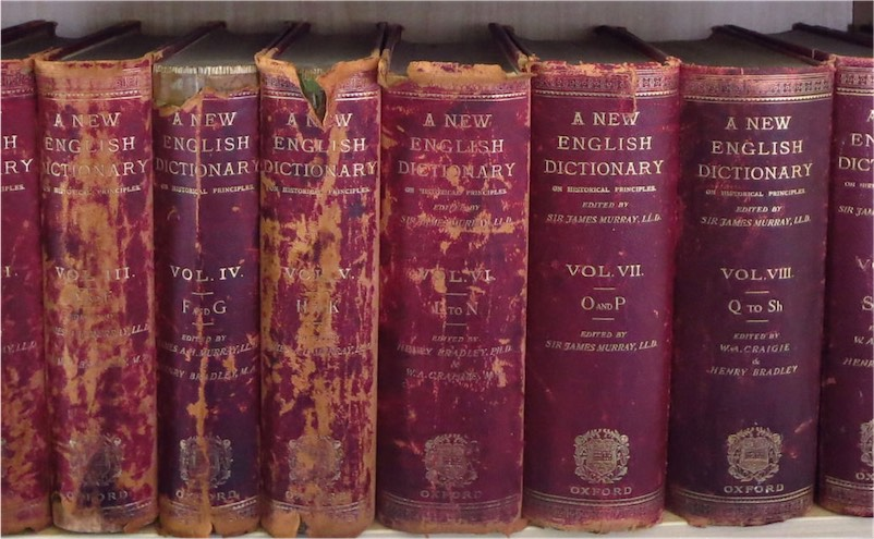 Oxford-English-Dictionary-Book-Set-Antique