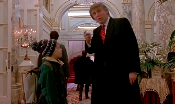 """Donald Trump Makes """"Home Alone 2"""" Great Again / Boing Boing"""