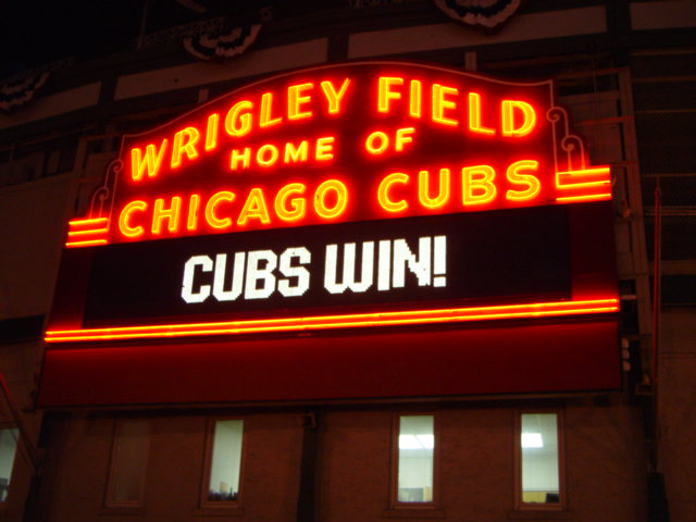 Yes, Cubs fans are superstitious and butchery, but they're very patient.