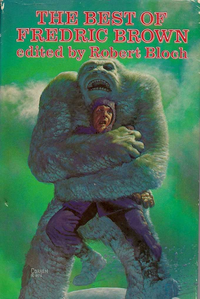Great Richard Corben Cover For A Great Fredric Brown Sf