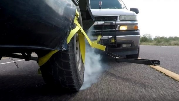 Police Bumper That Deploys A Net To Snag Escapee S Tires