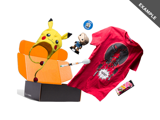 This Loot Crate mystery box will make you feel like a kid again—$50 off