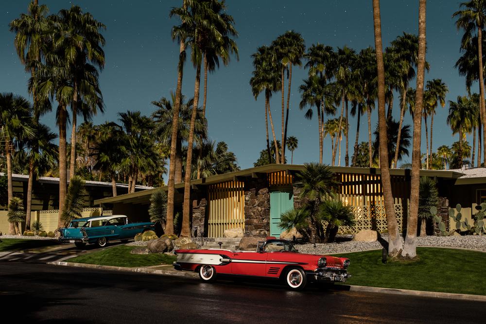 Savor Tom Blachford S Full Moon Shots Of Vintage Palm Springs