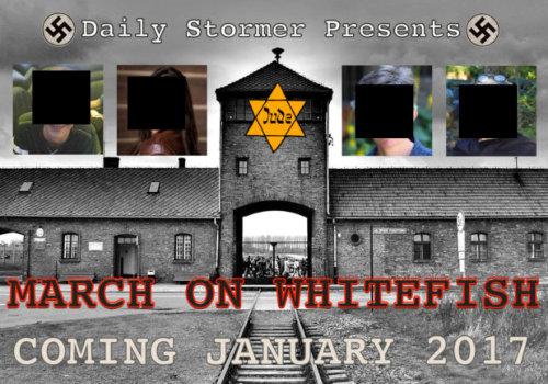 Neo-nazi assholes seek to chase Jews from Whitefish, Montana
