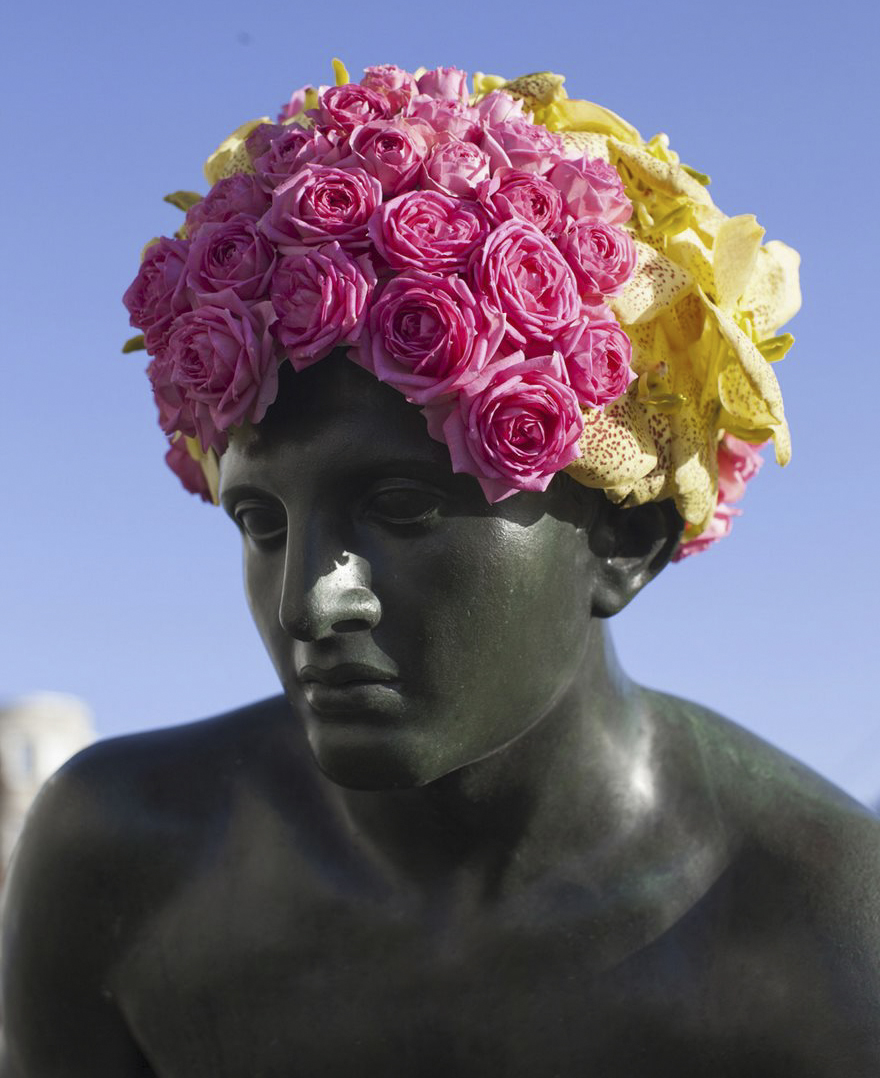 Forget filters this artist adds real flower crowns to statues forget filters this artist adds real flower crowns to statues boing boing izmirmasajfo