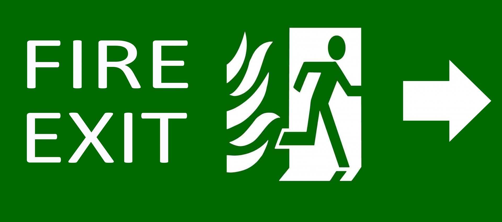 green-exit-emergency-sign-on-white