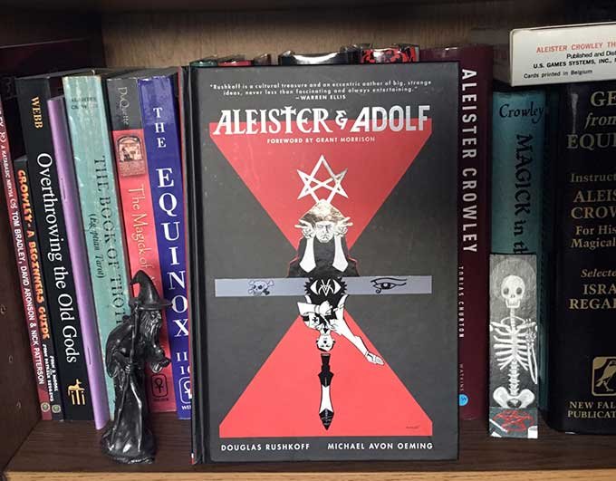 Aleister Crowley and Adolf Hitler wage occult war in Doug Rushkoff's latest