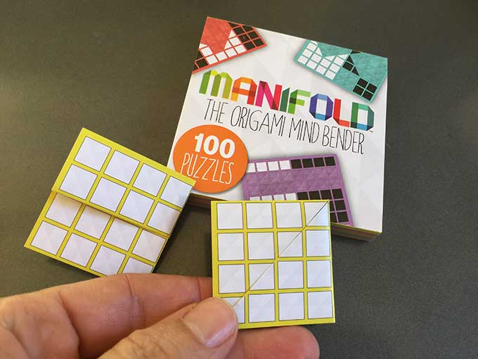 Manifold - a pad a 100 origami puzzles