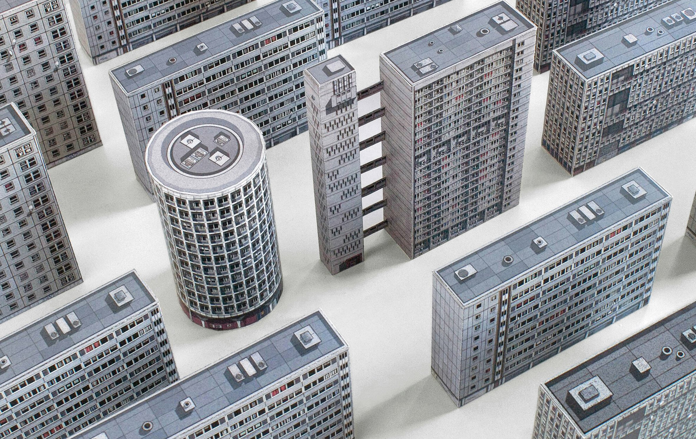 A book about londons gorgeous brutalist architecture includes a book about londons gorgeous brutalist architecture includes dainty diy papercraft models to make yourself solutioingenieria Gallery