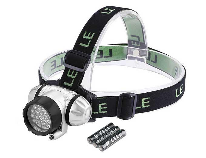 LED headlamp on sale for $8