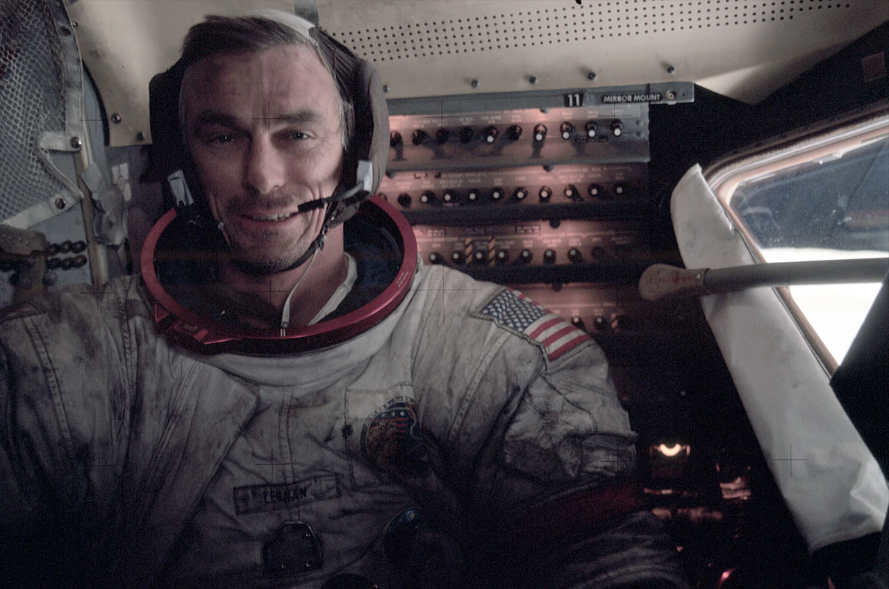 Astronaut Eugene Cernan, last man to walk on the moon, has died at 82
