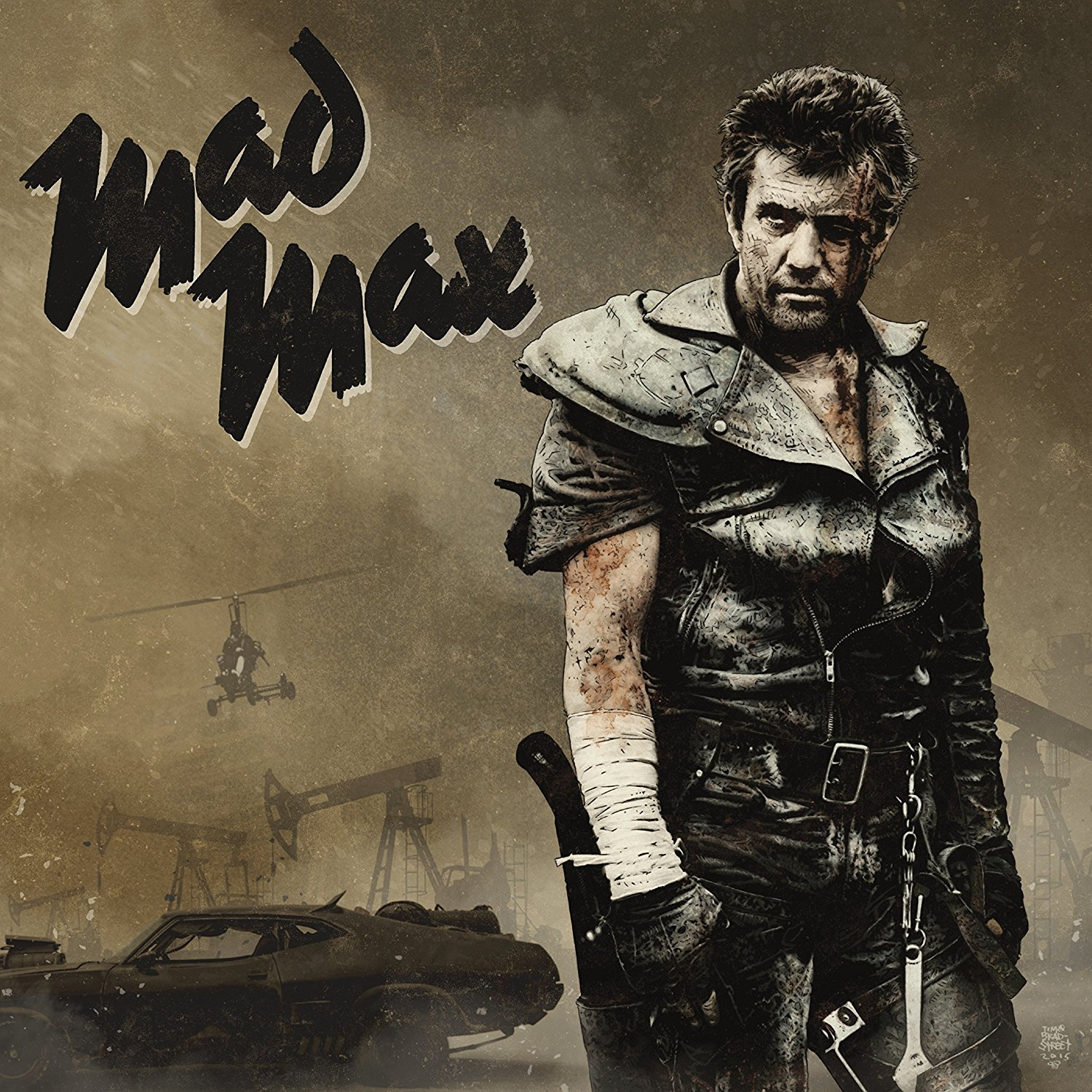 Mad Max Trilogy Soundtrack On Vinyl Boing Boing