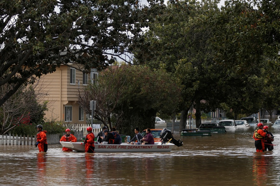 As San Jose dries out from floods, another storm is brewing