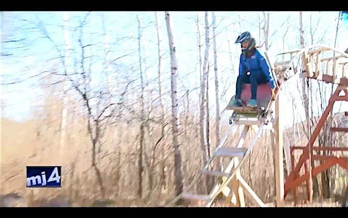 Roller Coaster In Their Backyard : Teens were bored so they built a backyard roller coaster  Boing Boing